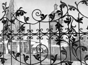 металлические ворота, кованые ворота, кованые заборы