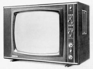 Кинескопный телевизор с механической разверткой