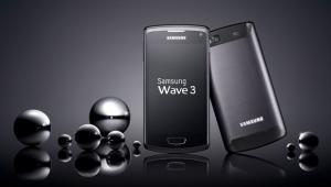 мобильный телефон Nokia E7, новинка Samsung S8600 Wave 3