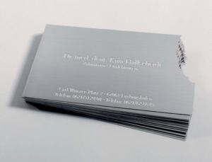 визитки, офсетная печать визиток